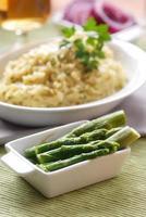 risotto agli asparagi foto