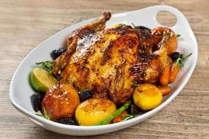 pollo al forno per la cena di Natale
