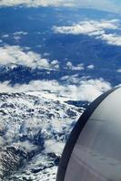blick aus flugzeug foto