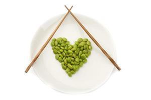 semi di soia freschi foto