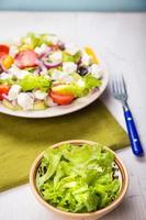 insalata grecia foto