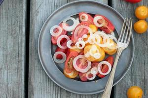 insalata di pomodoro. foto