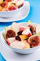 macedonia di frutta rinfrescante foto