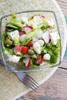 insalata di verdure fresche foto