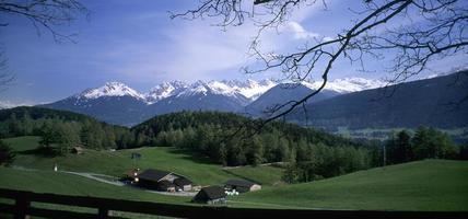 paesaggio bavarese foto