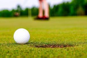 paesaggio del campo da golf foto
