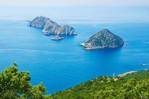 paesaggio del mare di Turchia foto