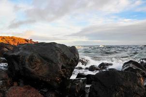 paesaggio del sud di Tenerife foto