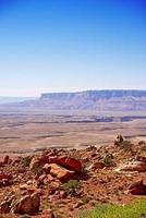 paesaggio crudo dell'Arizona foto