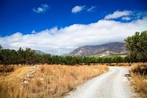 paesaggio rurale della Grecia