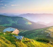 paesaggio montano. foto