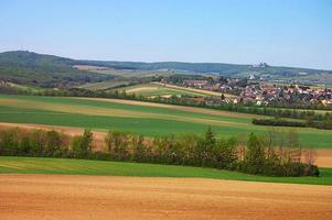 paesaggio primaverile in svizzera foto