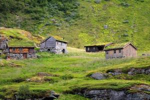 bellissimo paesaggio della norvegia, scandinavia foto