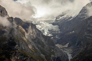 paesaggi di montagna intorno a Grindelwald, Svizzera foto