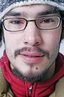 uomo inverno foto