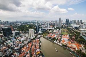 paesaggio di singapore foto
