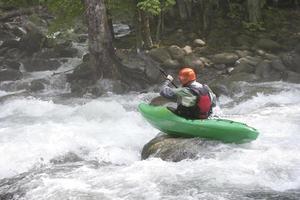 kayak in the smokies (xxl) foto