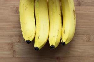 fila di banane