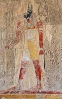 affresco di Anubi