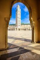 moschea di hassan ii foto