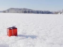 decorazione di natale inverno foto