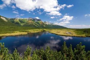 lago di montagna