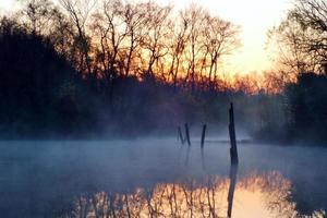 lago di mattina