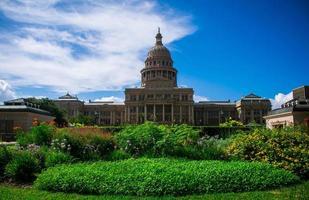 il meraviglioso edificio di Austin Capitol si erge più alto di tutti gli altri foto