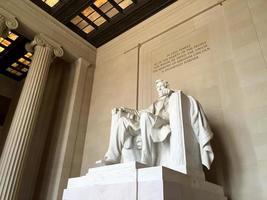 statua di Abramo Lincoln foto