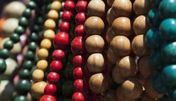 perle di legno foto