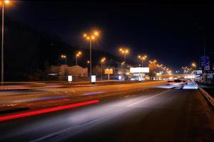 scena notturna nella città di kiev