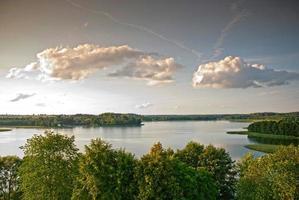 parrucca del lago. Polonia foto