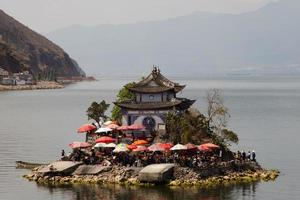 Lago Erhai - Cina foto