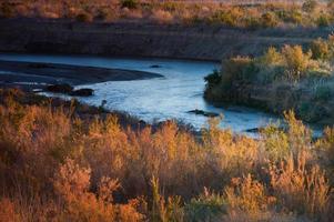 panorama dell'idromele del lago foto