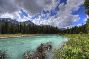 montagne rocciose, Columbia Britannica, Canada. foto