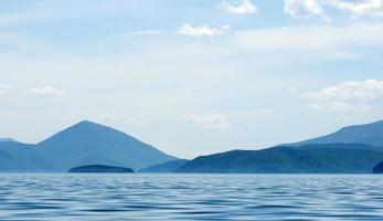 lago di prespa, macedonia foto