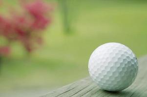 pallina da golf, primo piano foto