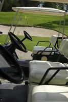 bellissimo campo da golf in slovenia foto