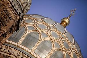 cupola della sinagoga di Rikestrasse, Berlino, Germania foto