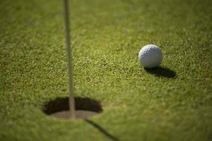 pallina da golf foto
