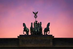 Brandeburger Tor, Berlino foto