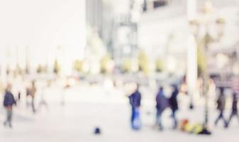 pendolari della città. foto