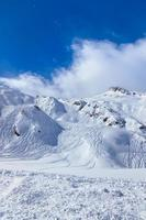 stazione sciistica delle montagne Kaprun Austria foto