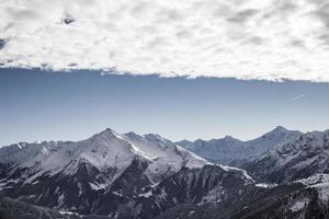 Wolkige Alpen foto