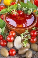 ketchup di pomodoro foto