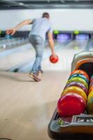 palle da bowling foto