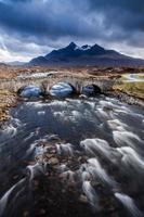 fiume sull'isola di skye foto
