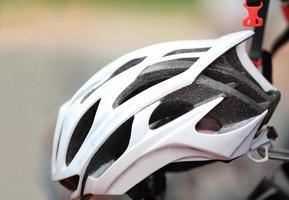 casco da ciclismo foto