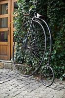 vecchia bici foto