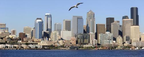 Seattle, wa skyline foto